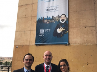 DR. OSCAR VIDAL WITH PART OF HIS TEAM