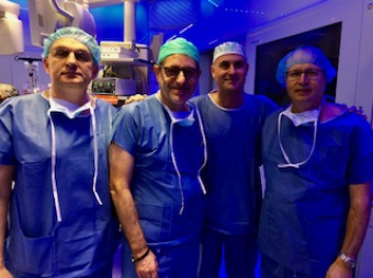 Specialists in transaxillary endoscopic thyroid surgery