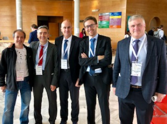 SPANISH REPRESENTATION AT THE EUROPEAN CONGRESS OF ENDOCRINE SURGEONS